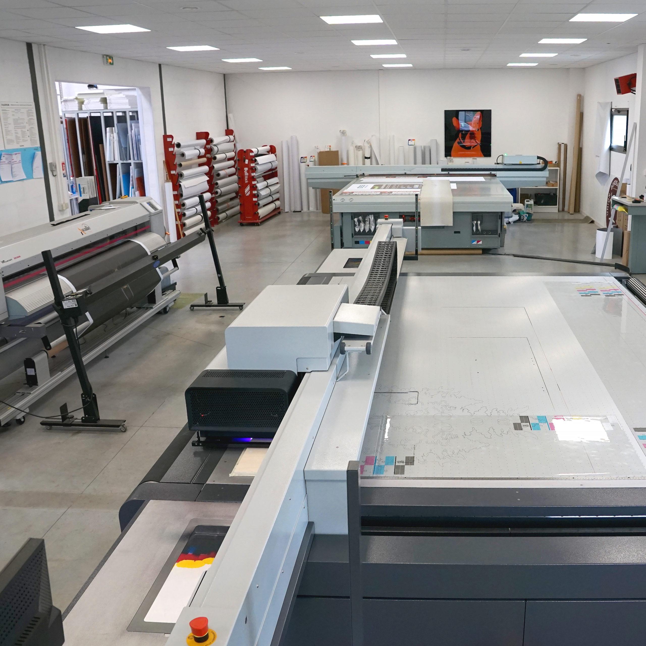 Parc machine arcalie imprimerie bordeaux